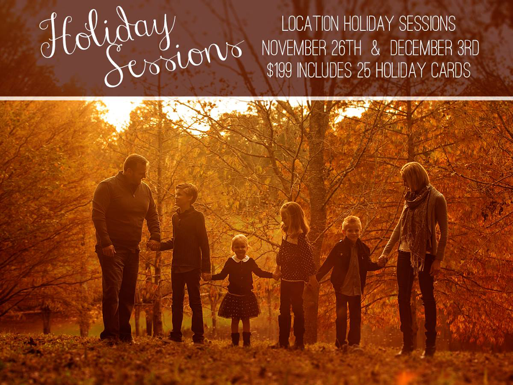 holiday family portraits by Hughes Fioretti
