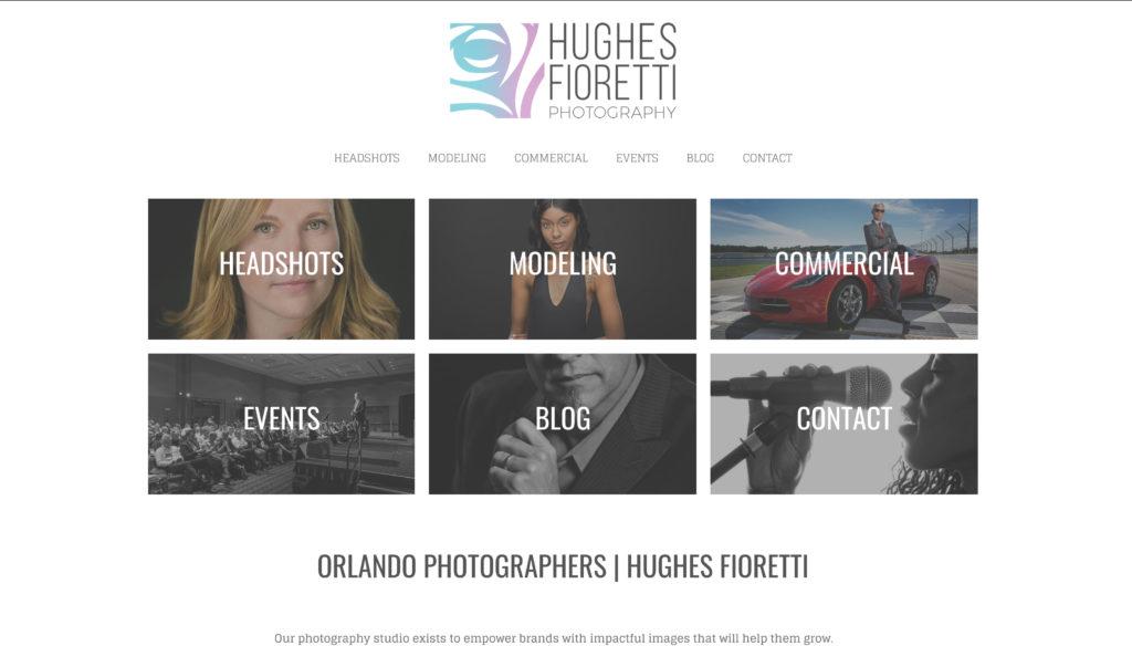 Orlando Photographers | Hughes Fioretti Headshots, Events